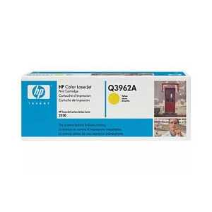 Original HP 122A Yellow toner cartridge, Q3962A, 4000 pages