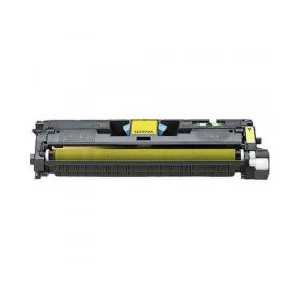 Remanufactured HP 122A Yellow toner cartridge, Q3962A, 4000 pages