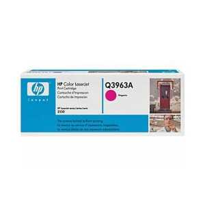 Original HP 122A Magenta toner cartridge, Q3963A, 4000 pages