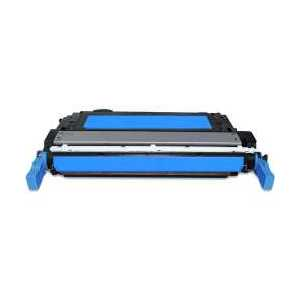 Remanufactured HP 643A Cyan toner cartridge, Q5951A, 10000 pages