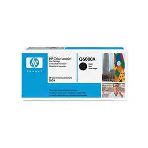 Original HP 124A Black toner cartridge, Q6000A, 2500 pages