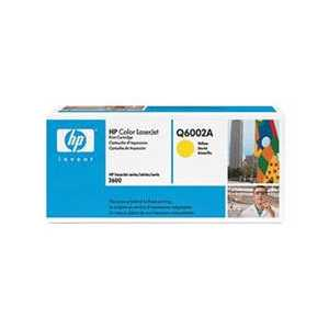 Original HP 124A Yellow toner cartridge, Q6002A, 2000 pages