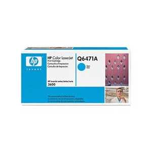 Original HP 502A Cyan toner cartridge, Q6471A, 4000 pages