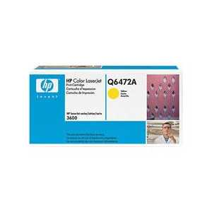 Original HP 502A Yellow toner cartridge, Q6472A, 4000 pages