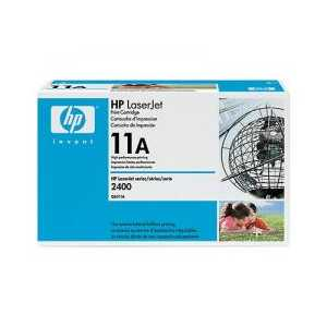 Original HP 11A Black toner cartridge, Q6511A, 6000 pages