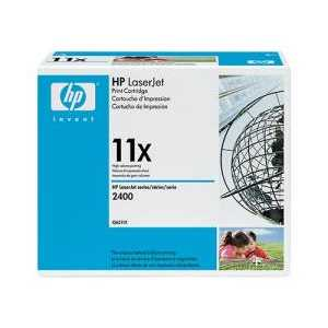 Original HP 11X Black toner cartridge, High Yield, Q6511X, 12000 pages