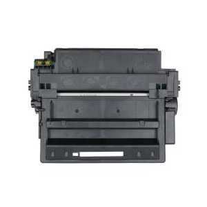 Remanufactured HP 11X Black toner cartridge, High Yield, Q6511X, 12000 pages