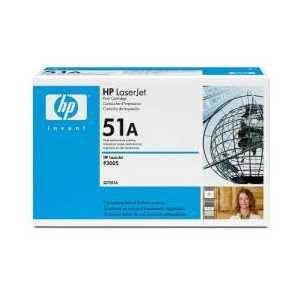 Original HP 51A Black toner cartridge, Q7551A, 6500 pages