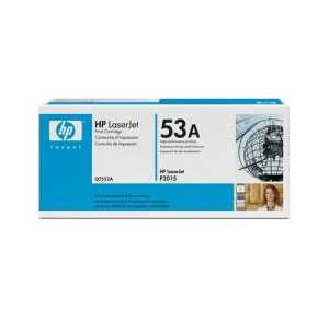 Original HP 53A Black toner cartridge, Q7553A, 3000 pages