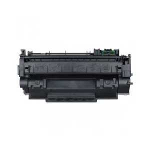 Remanufactured HP 53A Black toner cartridge, Q7553A, 3000 pages