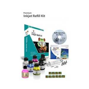 Inkjet Refill Kit for Kodak 30 and Chips - 10 refills