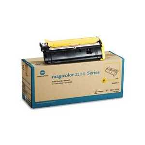 Konica Minolta 1710471-002 Yellow genuine OEM toner cartridge