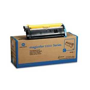 Konica Minolta 1710471-004 Cyan genuine OEM toner cartridge