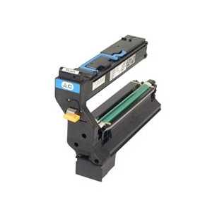 Konica Minolta 1710602-004 Cyan genuine OEM toner cartridge
