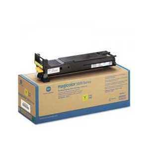 Konica Minolta A06V233 Yellow High Capacity genuine OEM toner cartridge