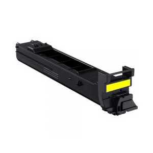 Konica Minolta A0DK233 Yellow compatible toner cartridge