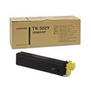 Kyocera Mita TK-502Y Yellow compatible toner cartridge