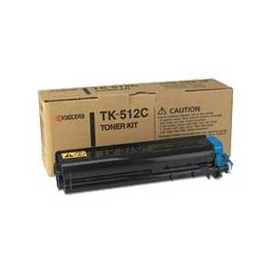 Kyocera Mita TK-512C Cyan genuine OEM toner cartridge