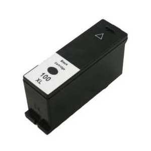 Compatible Lexmark 100XL Black ink cartridge, High Yield, 14N1092