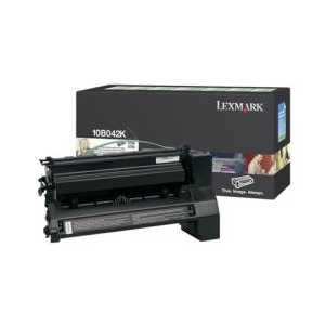 Lexmark 10B042K Black genuine OEM toner cartridge