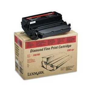 Original Lexmark 1382100 Black toner cartridge, 7000 pages