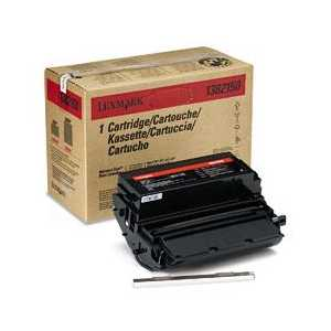Original Lexmark 1382150 Black toner cartridge, High Yield, 14000 pages