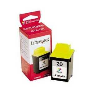 Original Lexmark #20 Color ink cartridge, 15M0120