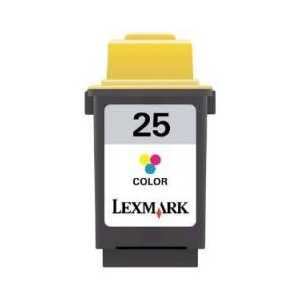 Original Lexmark #25 Color ink cartridge, 15M0125