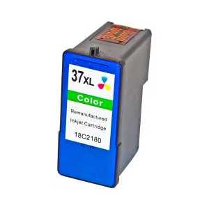 Remanufactured Lexmark 37XL Color ink cartridge, High Yield, 18C2200, 18C2180