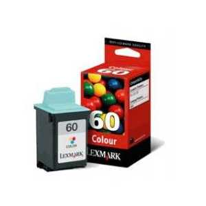 Original Lexmark #60 Color ink cartridge, 17G0060