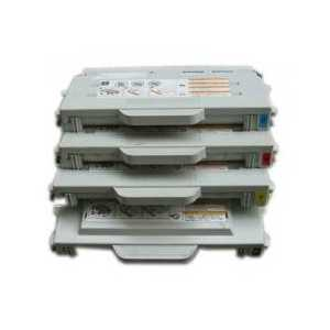 Remanufactured Lexmark 20K0503, 20K0500, 20K0501, 20K0502 toner cartridges, High Yield, 4 pack