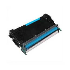 Remanufactured Lexmark C5222CS Cyan toner cartridge, 3000 pages