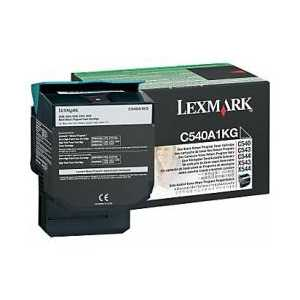 Original Lexmark C540A1KG Black toner cartridge, 1000 pages