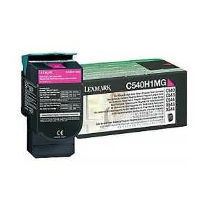 Original Lexmark C540H1MG Magenta toner cartridge, High Yield, 2000 pages
