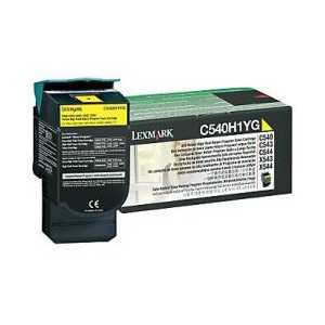 Original Lexmark C540H1YG Yellow toner cartridge, High Yield, 2000 pages