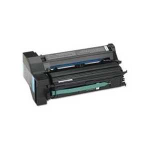 Remanufactured Lexmark C7702CH Cyan toner cartridge, 10000 pages