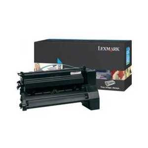 Original Lexmark C780A2CG Cyan toner cartridge, 6000 pages