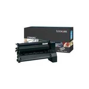 Original Lexmark C780A2KG Black toner cartridge, 6000 pages