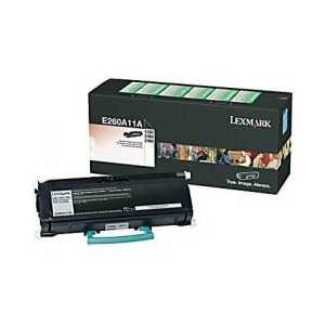 Original Lexmark E260A11A Black toner cartridge, 3500 pages
