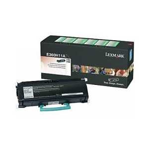 Original Lexmark E360H11A Black toner cartridge, High Yield, 9000 pages