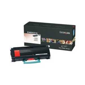 Original Lexmark E460X21A Black toner cartridge, Extra High Yield, 15000 pages