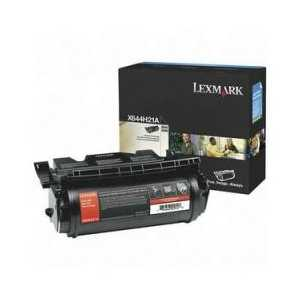 Original Lexmark X644H21A Black toner cartridge, 21000 pages