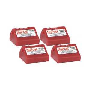 Pitney Bowes compatible 769-0 Fluorescent Red postage meter ink cartridge for E700, E707, G700 Personal Post, 4 pack