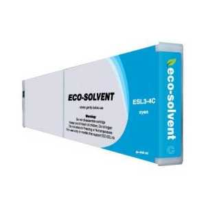 Compatible Roland ESL3-4C Cyan Eco-Sol Max ink cartridge