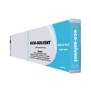 Compatible Roland ESL3-4LC Light Cyan Eco-Sol Max ink cartridge