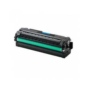 Compatible Samsung CLT-C505L Cyan toner cartridge, High Yield, 3500 pages