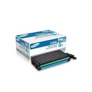 Original Samsung CLT-C508L Cyan toner cartridge, High Yield, 5000 pages