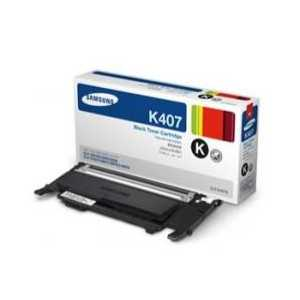Original Samsung CLT-K407S Black toner cartridge, 1500 pages