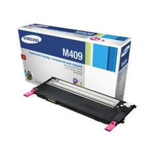 Original Samsung CLT-M409S Magenta toner cartridge, 1000 pages