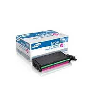 Original Samsung CLT-M508L Magenta toner cartridge, High Yield, 5000 pages